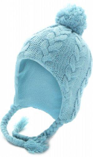Шапка для девочек , размер 54 Glissade. Цвет: голубой