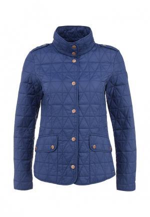Куртка утепленная Luhta KIELO. Цвет: синий