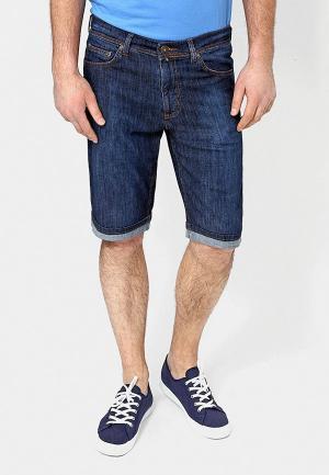 Шорты джинсовые F5. Цвет: синий
