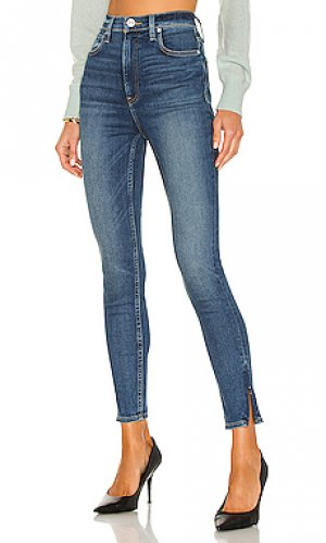 Скинни centerfold Hudson Jeans. Цвет: синий