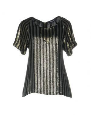 Блузка APRIL MAY. Цвет: черный