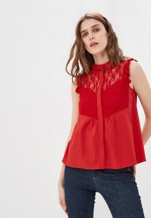 Блуза Liu Jo. Цвет: красный