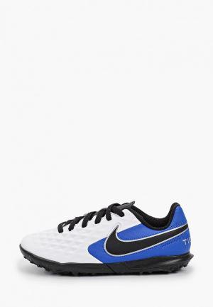 Шиповки Nike JR LEGEND 8 CLUB TF. Цвет: белый