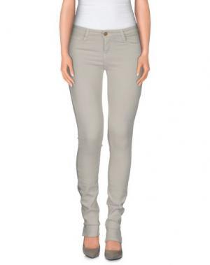 Джинсовые брюки ACQUAVERDE. Цвет: светло-серый