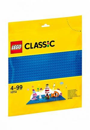 Конструктор Classic LEGO Синяя базовая пластина 10714. Цвет: разноцветный