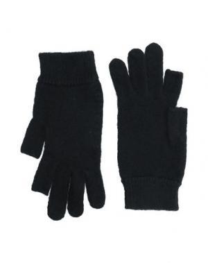 Перчатки RICK OWENS. Цвет: черный