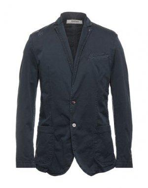 Пиджак DISPLAJ. Цвет: темно-синий