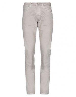 Джинсовые брюки 2 MEN. Цвет: песочный