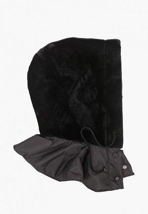 Капор Moksi. Цвет: черный