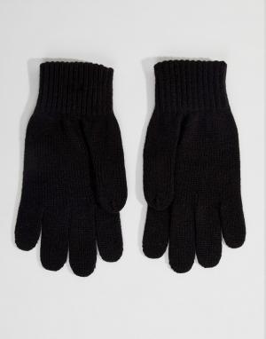 Черные перчатки Watch Carhartt WIP. Цвет: черный