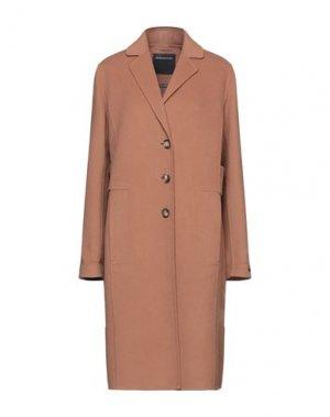 Пальто SPORTMAX CODE. Цвет: верблюжий