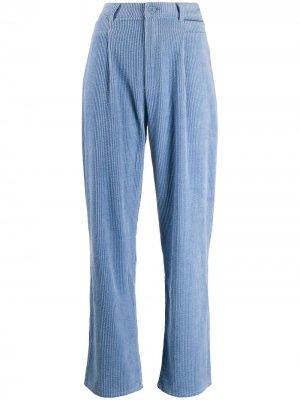 Вельветовые брюки прямого кроя Antik Batik