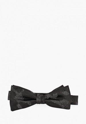 Бабочка Hugo Bow tie fashion. Цвет: черный