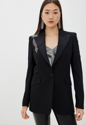 Пиджак John Richmond. Цвет: черный