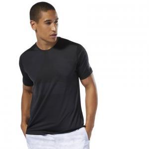 Спортивная футболка Training ACTIVCHILL Vent Reebok. Цвет: black