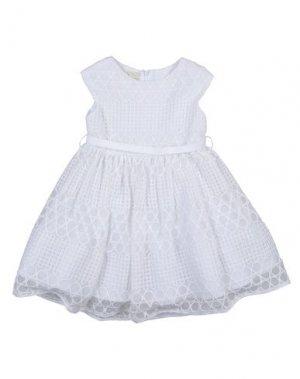 Платье ELSY. Цвет: белый