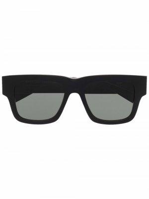Солнцезащитные очки Mega в массивной оправе Retrosuperfuture. Цвет: черный