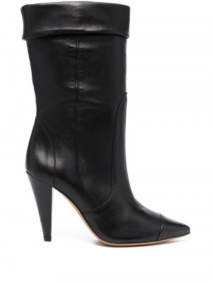 Ussel leather ankle boots IRO. Цвет: черный