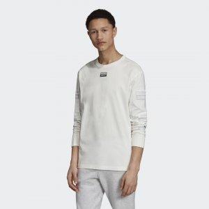 Лонгслив R.Y.V. Originals adidas. Цвет: белый