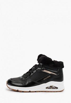 Ботинки Skechers UNO. Цвет: черный