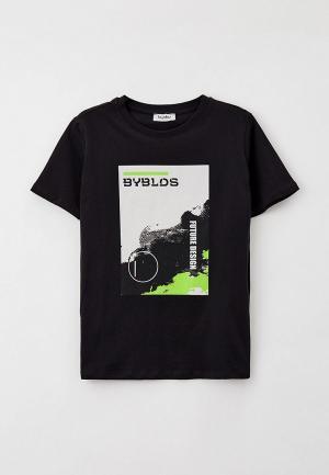 Футболка Byblos. Цвет: черный