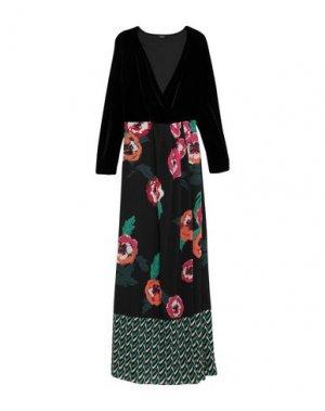 Длинное платье HANITA. Цвет: черный