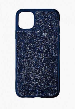 Чехол для iPhone Swarovski® 11 Pro Glam Rock. Цвет: синий