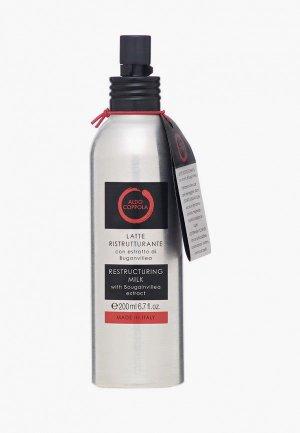 Молочко для волос Aldo Coppola защиты и восстановления сухих 200 мл. Цвет: прозрачный