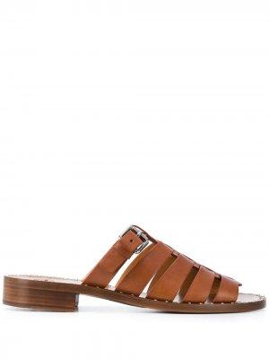 Churchs сандалии с заклепками Church's. Цвет: коричневый