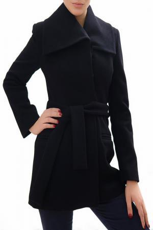 Пальто RADEKS. Цвет: черный