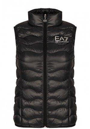 Жилет EA7. Цвет: черный