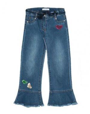 Джинсовые брюки ELSY. Цвет: синий