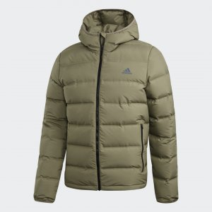 Пуховик Helionic Hooded Performance adidas. Цвет: none