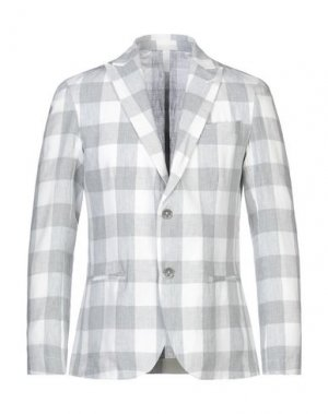 Пиджак MR MASSIMO REBECCHI. Цвет: светло-серый