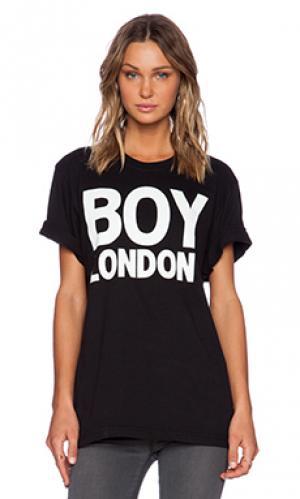 Футболка с рисунком boy london. Цвет: черный