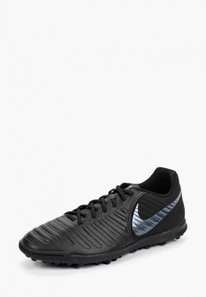 Бутсы Nike TiempoX Legend VII Club TF. Цвет: черный