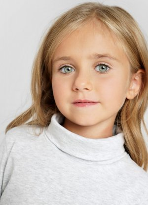 Свитер для девочек O`Stin. Цвет: жемчужно-серый