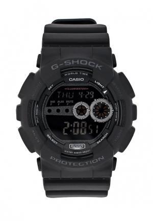 Часы Casio G-SHOCK GD-100-1B. Цвет: черный