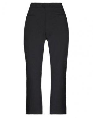 Повседневные брюки DENNY ROSE. Цвет: черный