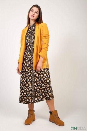 Длинное платье Steilmann. Цвет: разноцветный