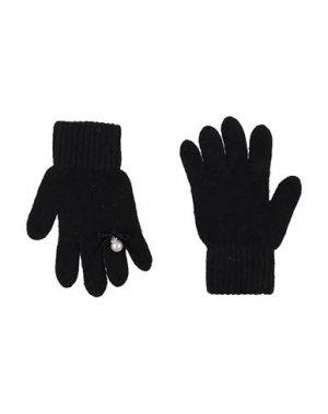 Перчатки ALETTA. Цвет: черный