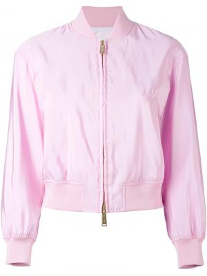 Куртка-бомбер Dsquared2. Цвет: розовый и фиолетовый