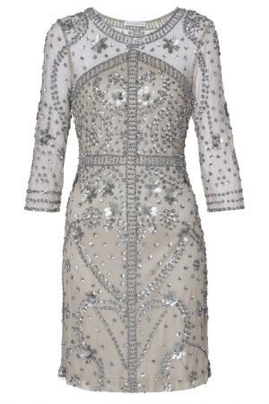 Платье Gina Bacconi. Цвет: серый