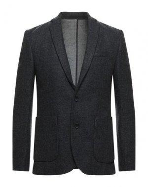 Пиджак EXTENDED by MINIMUM. Цвет: стальной серый
