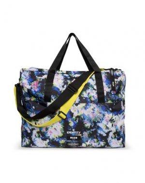 Дорожная сумка EASTPAK x MSGM. Цвет: светло-фиолетовый