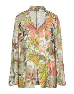 Пиджак MALÌPARMI. Цвет: зеленый