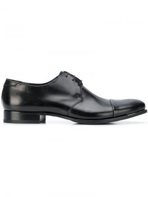 Туфли на шнуровке Fabi. Цвет: черный