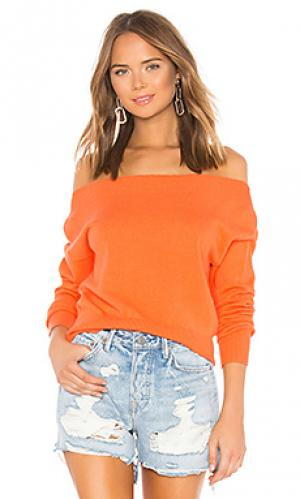 Пуловер georgina Lovers + Friends. Цвет: оранжевый