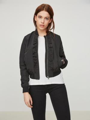 Бомбер Vero moda. Цвет: черный