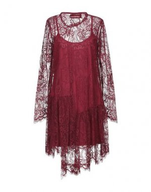 Короткое платье GUARDAROBA by ANIYE. Цвет: красно-коричневый